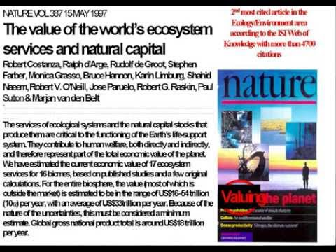 Robert Costanza: Ecosystem Service Valuation
