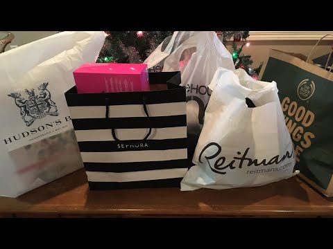 Collective Haul: Sephora, The Body Shop Hudson's Bay & More