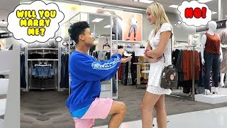 Funny Public Dares With My Crush!