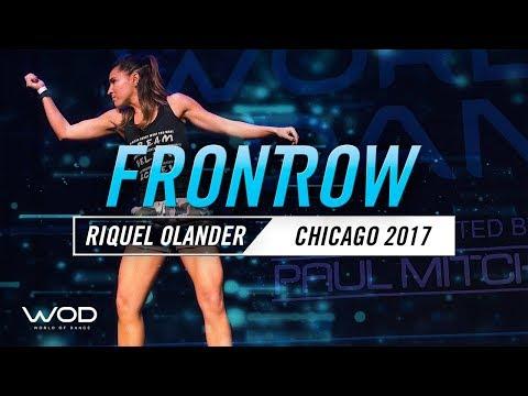 Riquel Olander | FRONTROW | World of Dance Chicago 2017 | #WODCHI17