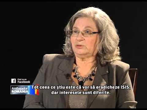 "Emisiune ""Ambasador Romania""-Invitat E.S. dna Tamar Samash,Ambasadorul Israelului in Romania"