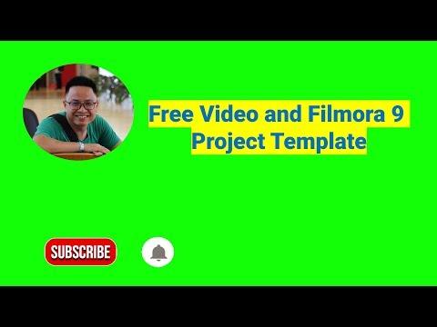 Free Subscribe Button Green Screen Filmora 9 Template
