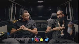 Stephen Curry Talks About Purchasing Carolina Panthers with Nipsey Hussle