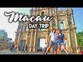 TRAVEL VLOG   Macau Day Trip from Hongkong   Things to Do in Macau    Jalan-jalan Satu Hari Di Macau