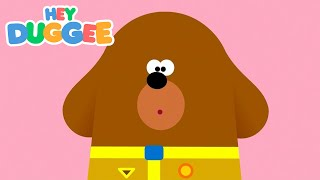 The Cardboard Box Badge - Hey Duggee Series 1 - Hey Duggee
