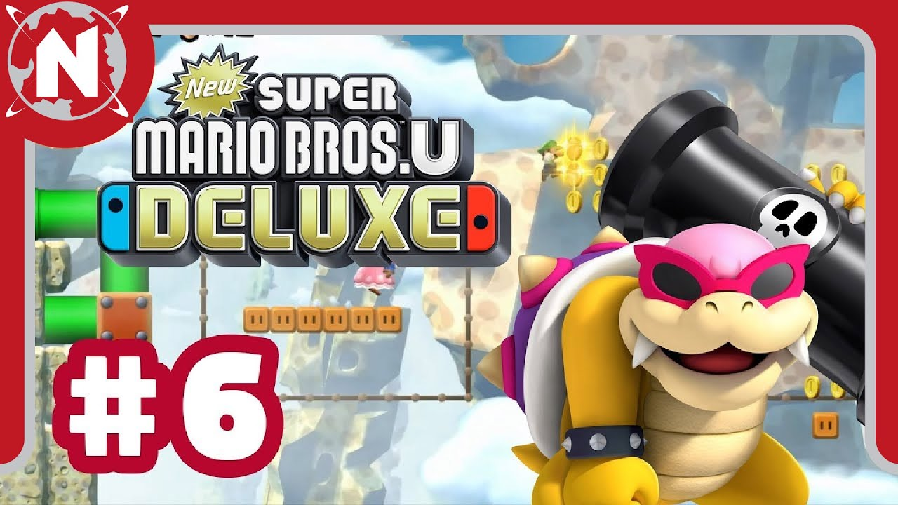 El Exterminador de Peces - New Super Mario Bros. U Deluxe #6 | Domingos de Gameplay