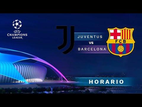 Juventus vs FC Barcelona Champions League En Vivo