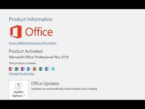 office 2019 update