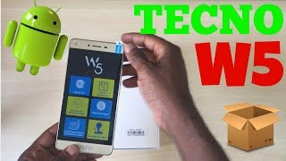 Tecno W5 Unboxing, Specification review and price