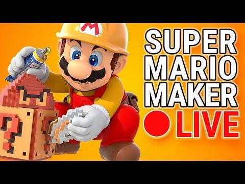 Mario Maker Live #19 - Occasional Beard