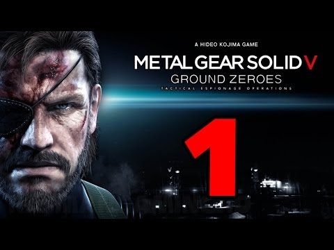 Metal Gear Solid 5: Ground Zeroes Walkthrough PART 1 [1080p]