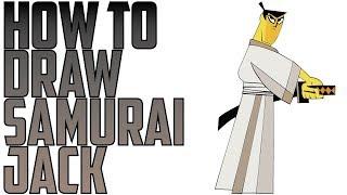 How To Draw Samurai Jack Easy Art Lesson Samurai Jack Kids Drawing Tutorial