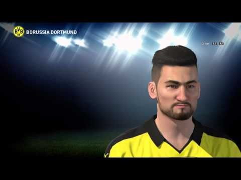 PES 2016 Ilkay Gundogan Face