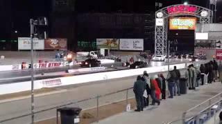 Boosted GT vs Challenger 392 at Midnight Mayhem