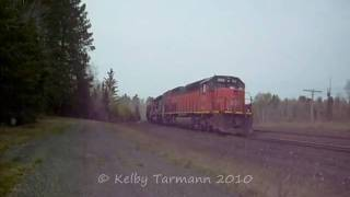 BLE 903 leads loaded T Bird Raw Ore train to Fairlane