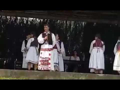 Andrei Sandru 2 si Junii Tarii Zarandului din Plescuta la Nedeia de la Tacasele,Iulie 2016.