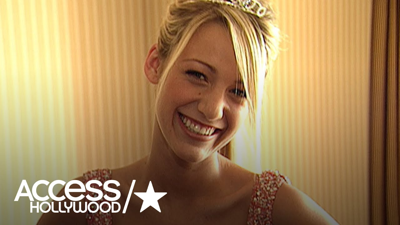 Tbt Blake Lively Gets Ready For Her Prom Access Archives Access Hollywood