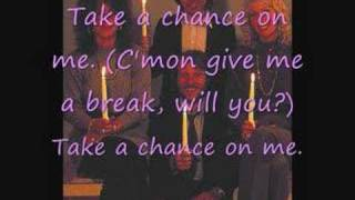 [Lyrics] ABBA-Take a Chance on Me