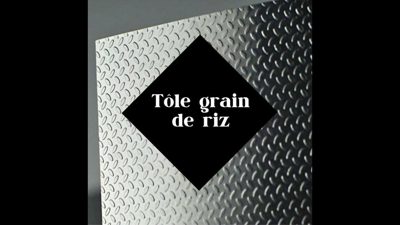 tole alu grain riz 2500x1250x2 1 5 1tole