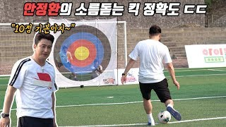 Jung-hwan Ahn's perfectly accurate shooting… The legendary players can't help but exclaim LOL