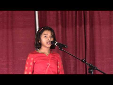 Robibar by Tagore - Recitation by Shreyasmi