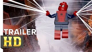 SPIDER-MAN: HOMECOMING - Official Trailer IN LEGO ( LEGO Marvel`s Avengers )