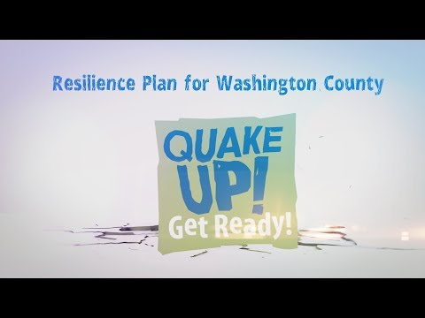 2017 Quake Up! Resilience Plan for Washington County