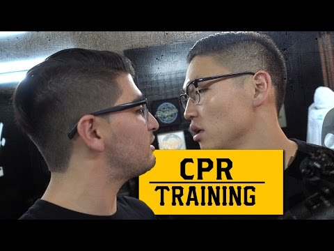 Mouth To Mouth CPR Training