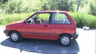1990 Ford Festiva LX