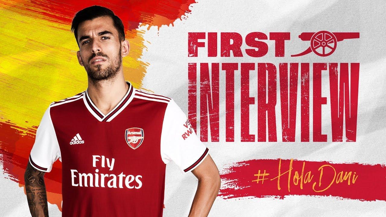 reputable site cdee0 4bd5f Dani Ceballos' first Arsenal interview   #HolaDani