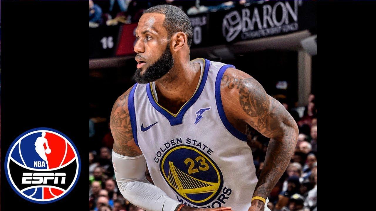 LeBron James denies rumors regarding the Warriors | NBA Countdown | ESPN