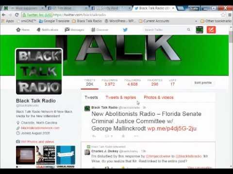 Why did Tim Wise slander Scotty Reid and Black Talk Radio Network?