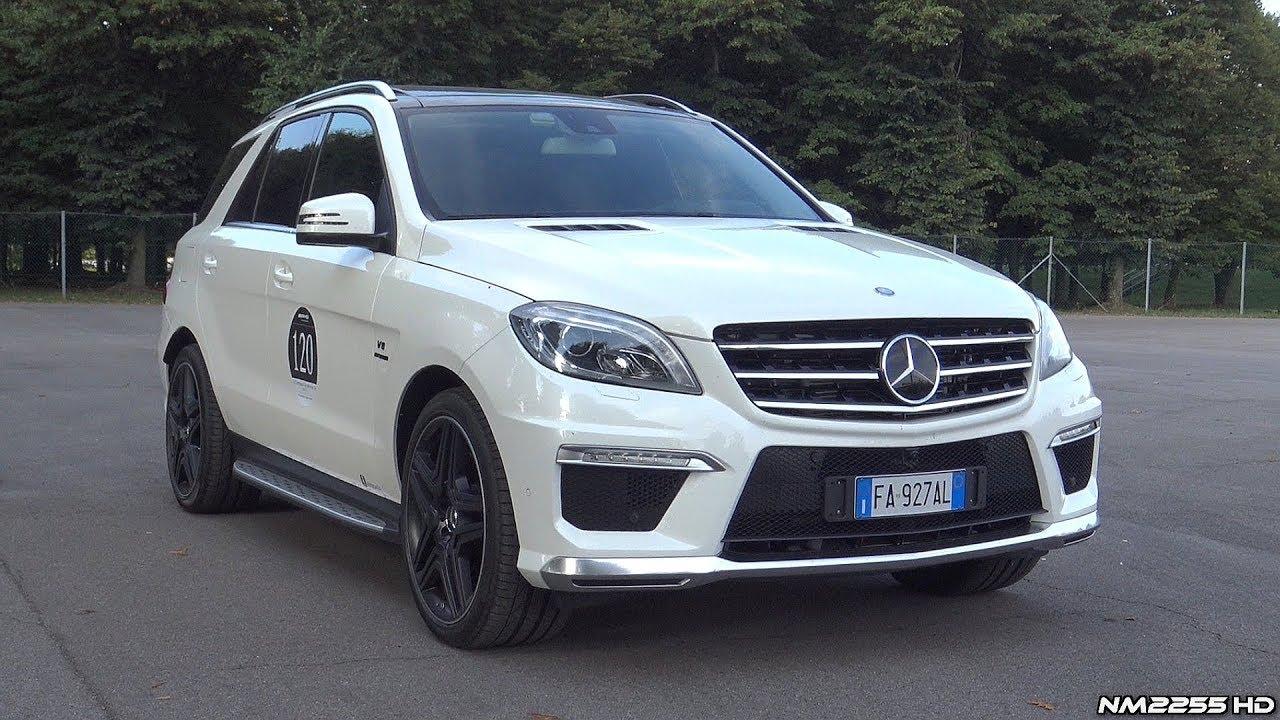 Mercedes Ml63 Amg V8 Bi Turbo With Capristo Valvetronic Exhaust Loud