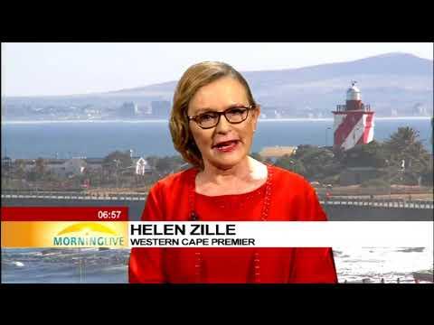 Helen Zille speaks on Cape Town water crisis
