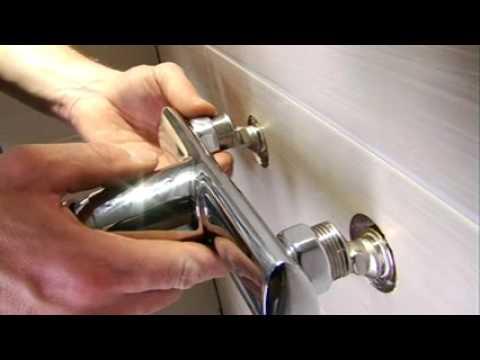 Zuhanykabin beszerelése - YouTube