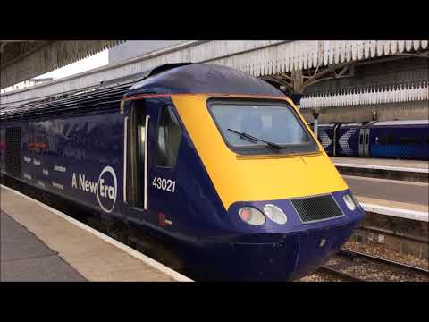 Scotrail Class 43 HST 125 Training Train at Aberdeen on Thursday 5 October 2017
