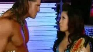 Melina Whinges At John Morrison AKA Johnny Nitro Backstage