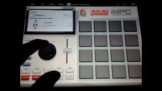 Akai iMPC   Sampled Hip Hop Beat Instrumental #1