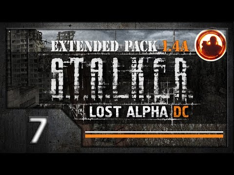 СТАЛКЕР Lost Alpha DC Extended pack 1.4a. Прохождение #07. Х-18