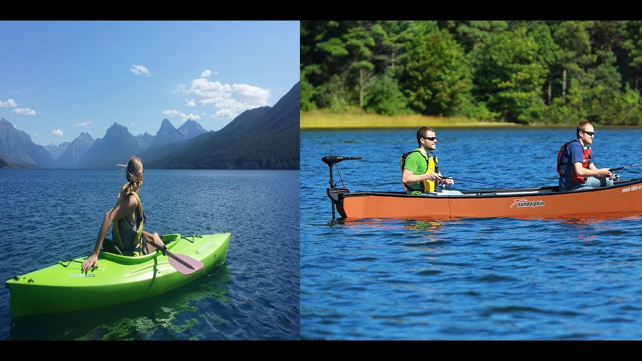How To Tell The Difference Between A Kayak And Canoe