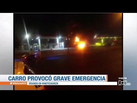 Un conductor fuera de control generó una grave emergencia en el sur de Bogotá