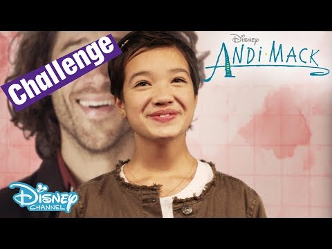 Andi Mack  Sing Along Challenge  Theme Song Game   Disney Channel UK