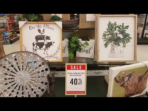 SHOP WITH ME AT HOBBY LOBBY SPRING/EASTER 2019