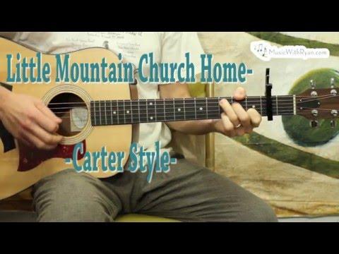 Little Mountain Church House - Ricky Skaggs - Guitar Lesson