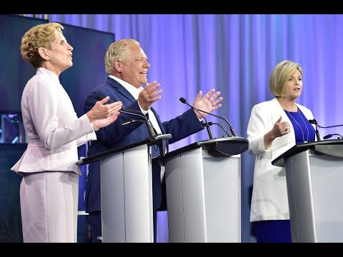 BATTLEGROUND DEBATE: Ontario leaders face media