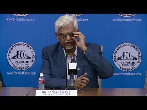 India and The New Geo-Economics of Asia. By FICCI Secretary General Dr Sanjaya Baru