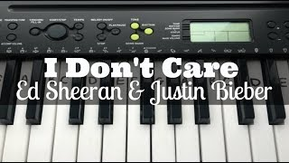 i-dont-care-ed-sheeran-justin-bieber-easy-keyboard-tutorial-with-notes