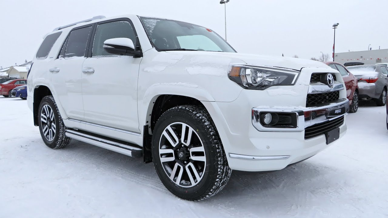 2014 Toyota 4Runner Limited Start Up, Walkaround And Vehicle Tour   YouTube