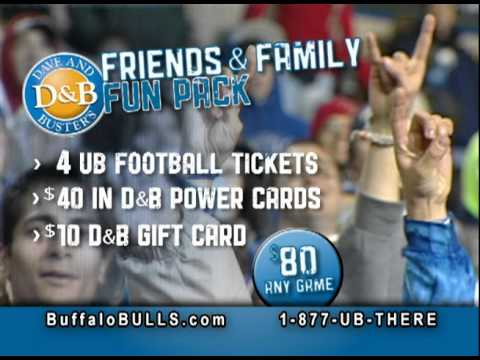 UB NOW: Experience UB Football with Dave and Buster