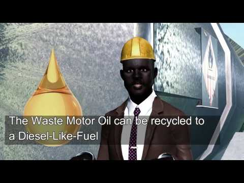 Sustainable refining of Waste Motor Oil  to produce Diesel Like Fuel